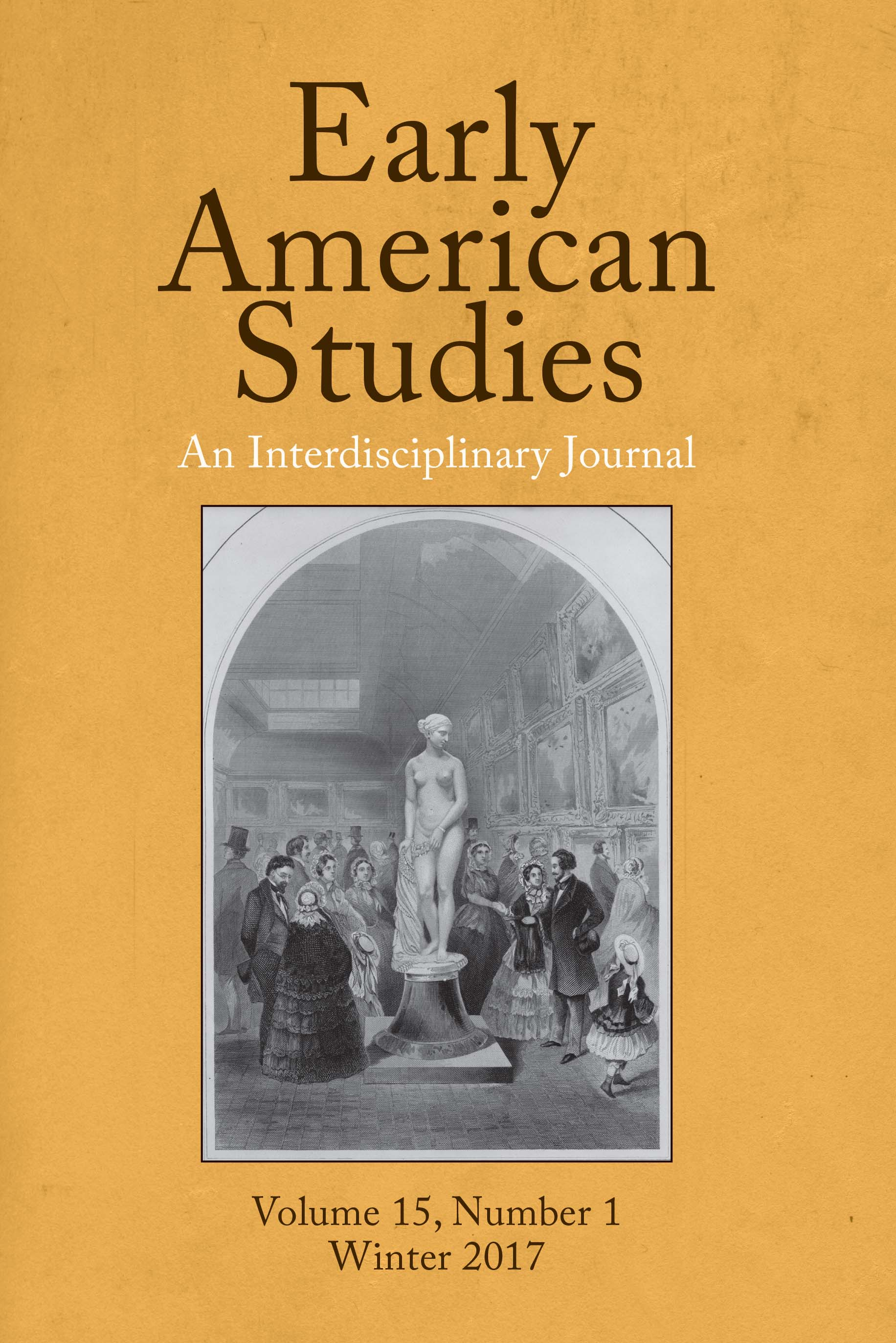 Early American Studies Spring 2021 Volume 19.2